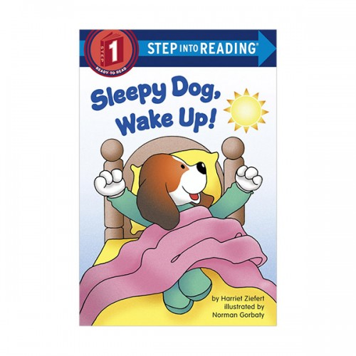 RL 0.9 : Step Into Reading 1 : Sleepy Dog, Wake Up! (Paperback)