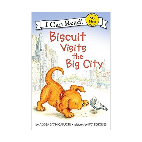 RL 1.0 : My First I Can Read : Biscuit Visits the Big City (Paperback)