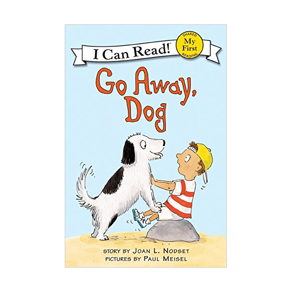 RL 1.0 : My First I Can Read : Go Away, Dog (Paperback)
