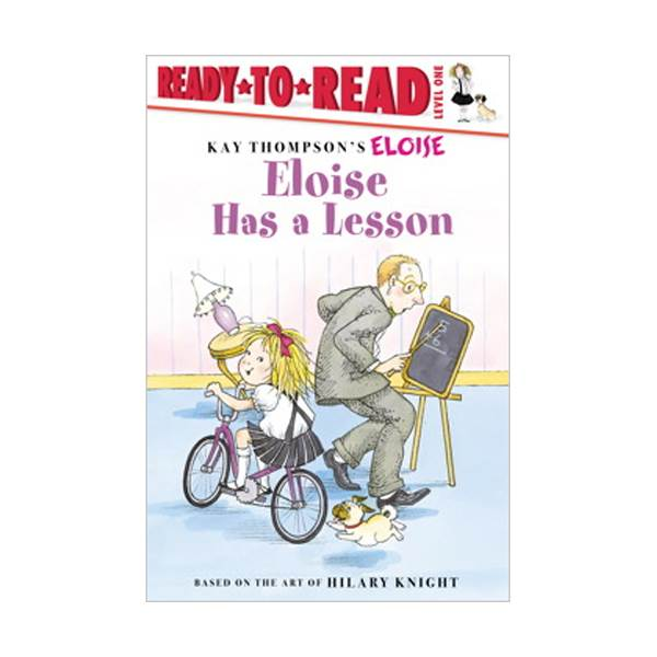 RL 1.0 : Ready To Read 1 : Eloise Has a Lesson(Paperback)