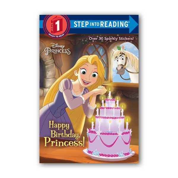 RL 1.0 : Step into Reading 1 : Disney Princess : Happy Birthday, Princess! (Paperback)
