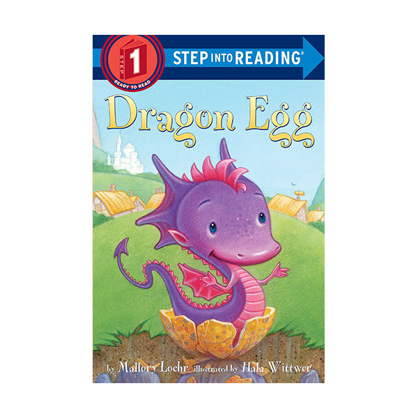 RL 1.0 : Step Into Reading 1 : Dragon Egg (Paperback)