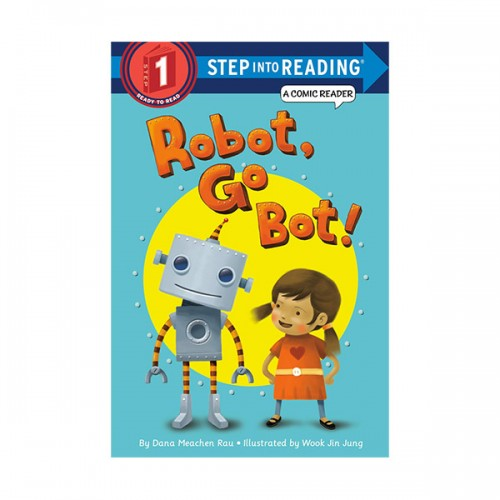 RL 1.0 : Step Into Reading 1 : Robot, Go Bot! (Paperback)