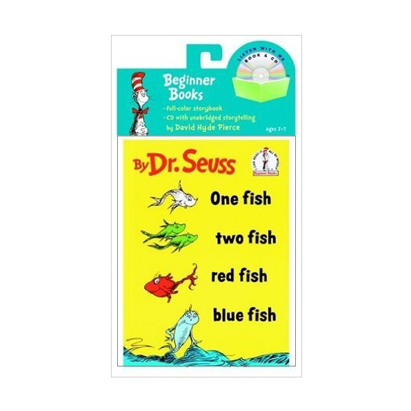 One Fish, Two Fish, Red Fish, Blue Fish (Book & CD)