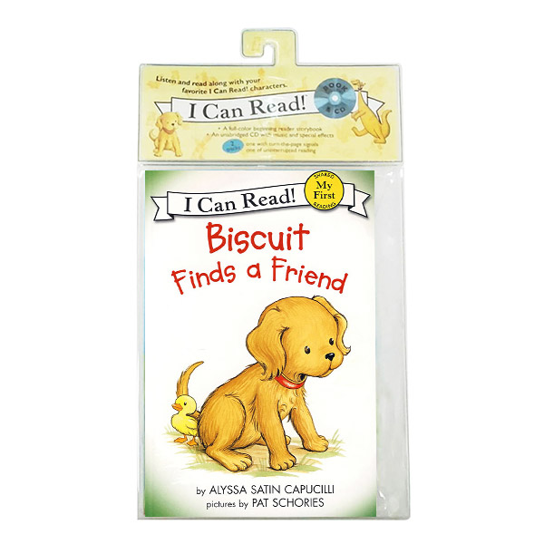 My First I Can Read : Biscuit Finds a Friend (Book & CD)