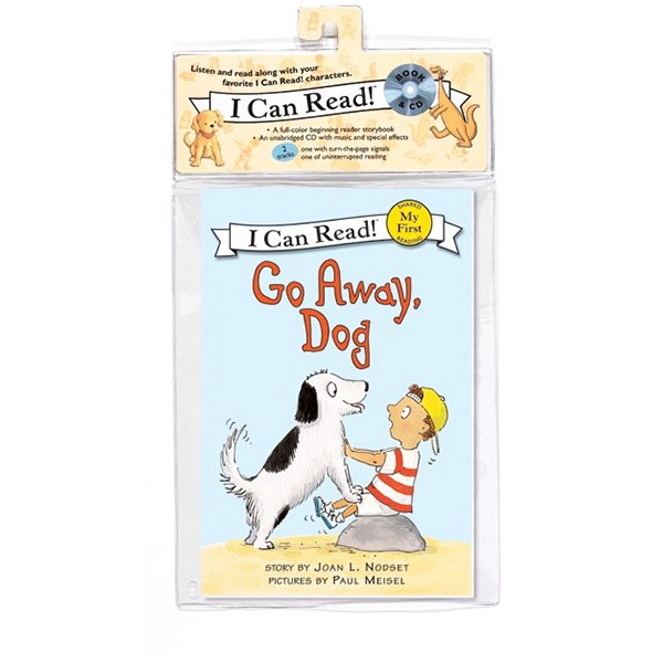 My First I Can Read : Go Away, Dog (Audiobook - Book and CD)