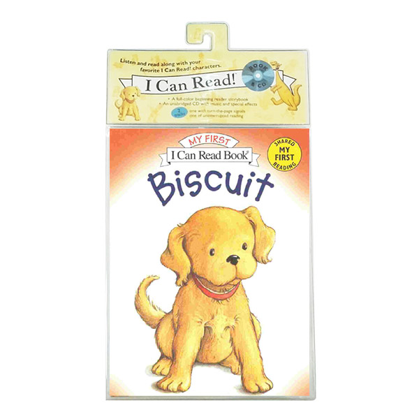 I Can Read My First : Biscuit (Paperback & CD)