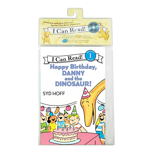 I Can Read 1 : Happy Birthday, Danny and the Dinosaur! (Book&CD)