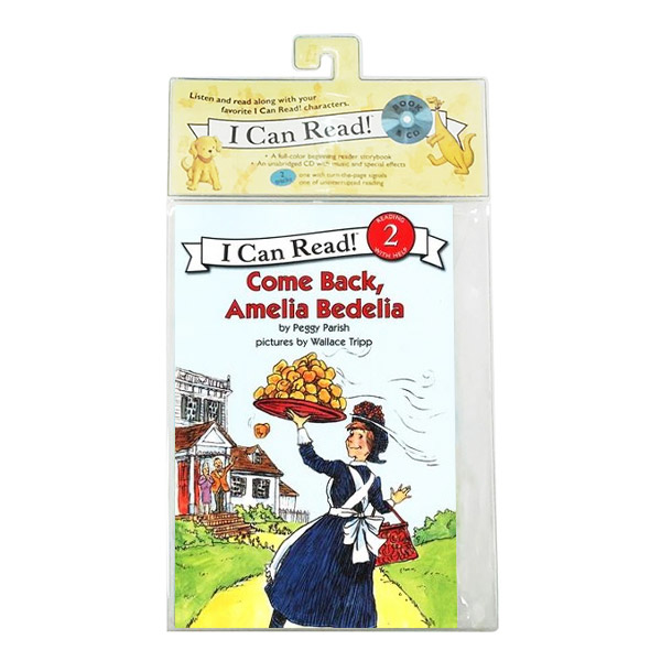 RL 2.1 : I Can Read Book Level 2 : Come Back, Amelia Bedelia (Book & CD)