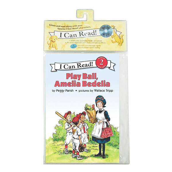 I Can Read 2 : Play Ball, Amelia Bedelia (Book&CD)