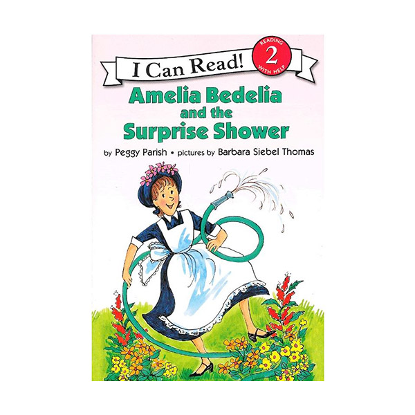 RL 2.3 : I Can Read Level 2 : Amelia Bedelia and the Surprise Shower (Book & CD)