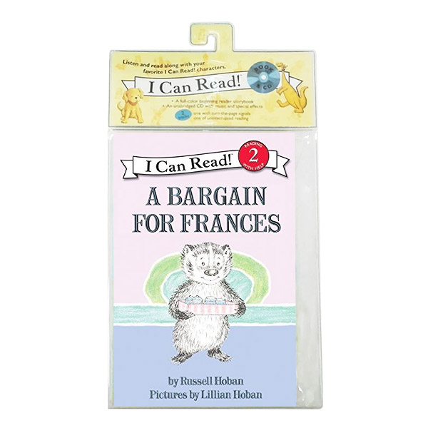 I Can Read 2 : Bargain for Frances (Book & CD)