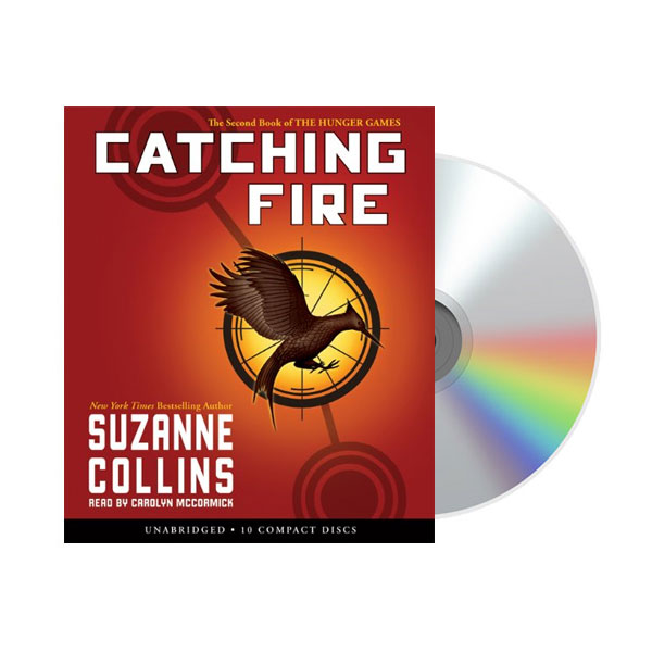 The Hunger Games #02 : Catching Fire (Audio CD)(도서미포함)