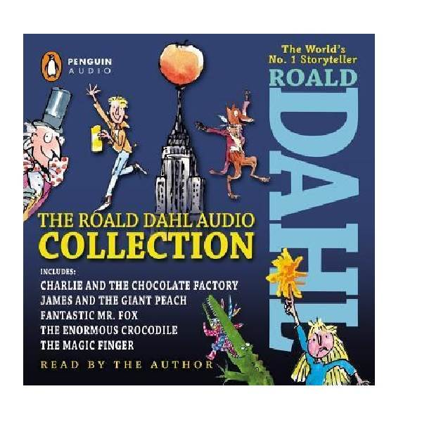 The Roald Dahl Audio Collection (Audio CD, 5 Stories)(도서미포함)