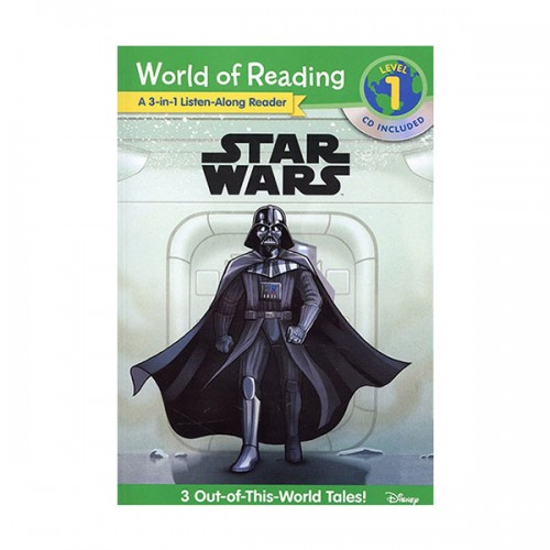 World of Reading Level 1 : Star Wars 3-in-1 Listen-Along Reader (Book & CD)