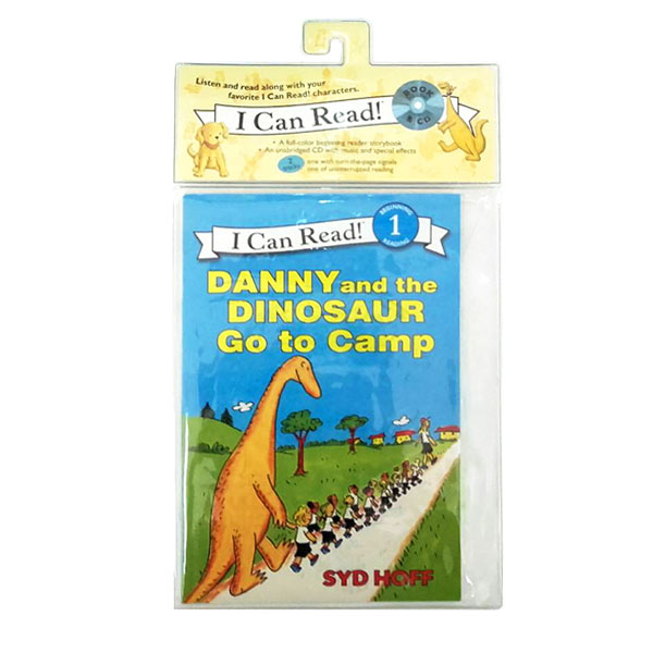 I Can Read 1 : Danny and the Dinosaur Go to Camp (Book&CD)