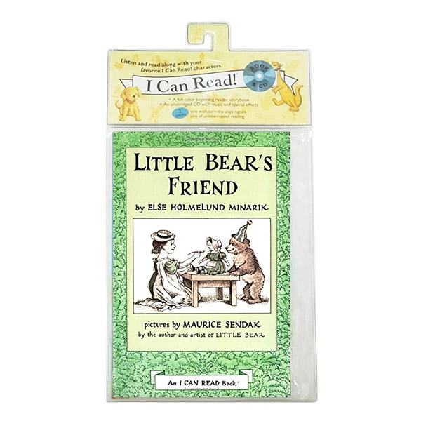 I Can Read 1 : Little Bear's Friend (Book & CD)
