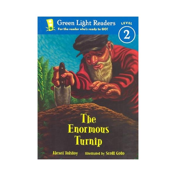 Green Light Reader 2 : The Enormous Turnip (Paperback)