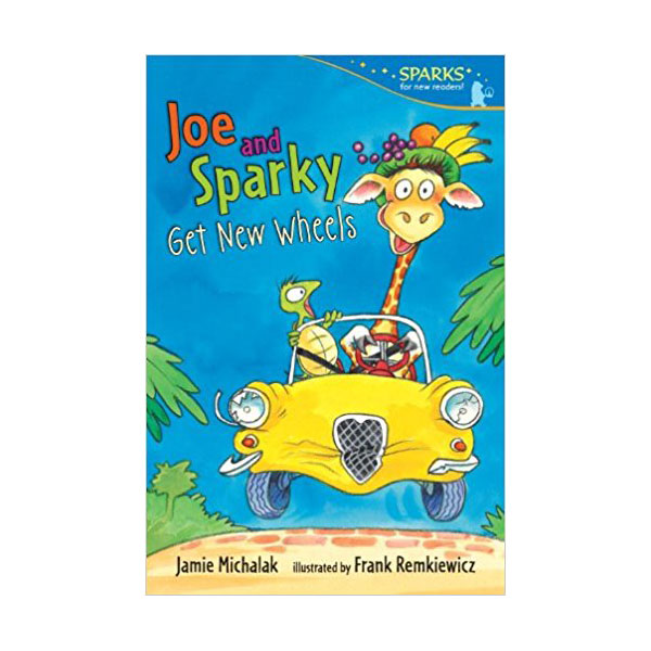 RL 2.1 : Candlewick Sparks : Joe and Sparky Get New Wheels (Paperback)