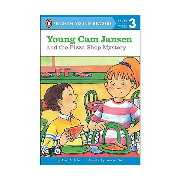 Penguin Young Readers Level 3 : Young Cam Jansen and the Pizza Shop Mystery (Paperback)