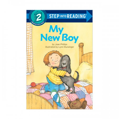RL 1.0 : Step Into Reading 2 : My New Boy (Paperback)