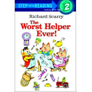 RL 1.0 : Step Into Reading 2 : Richard Scarry's The Worst Helper Ever! (Paperback)