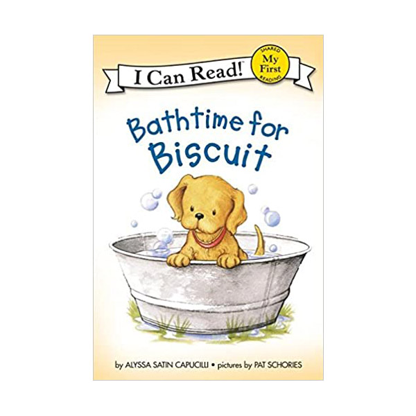 RL 1.1 : My First I Can Read : Bathtime for Biscuit (Paperback)