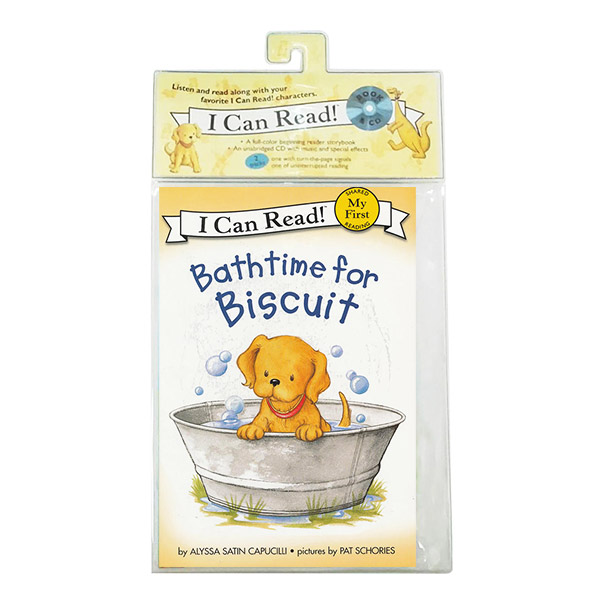 My First I Can Read : Bathtime for Biscuit (Book&CD)