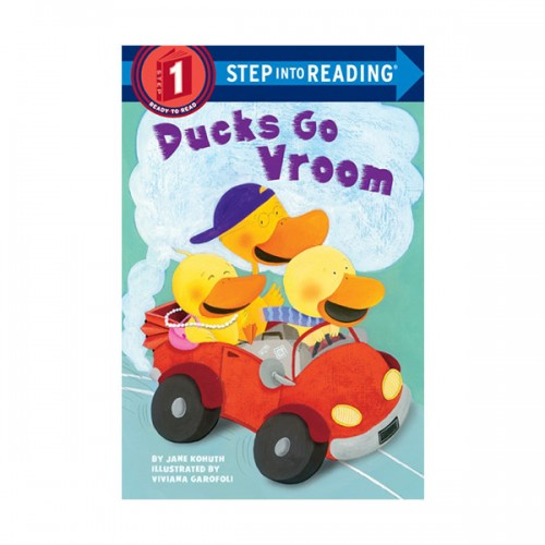 RL 1.1 : Step Into Reading 1 : Ducks Go Vroom (Paperback)