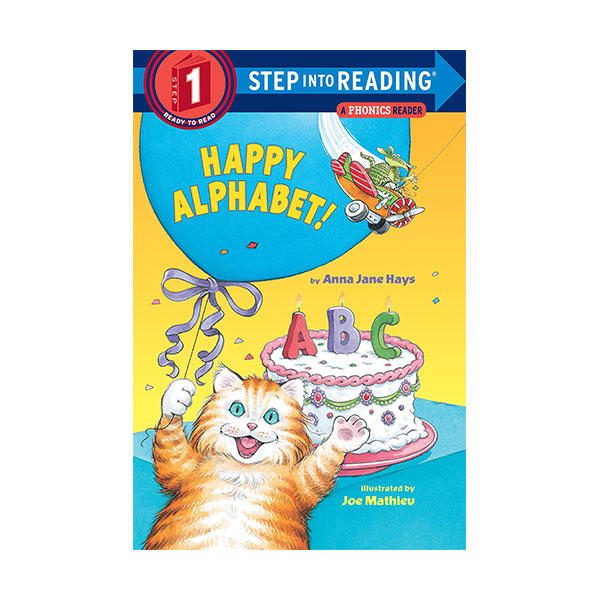 RL 1.1 : Step Into Reading 1 : Happy Alphabet! : A Phonics Reader (Paperback)