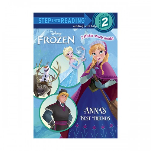 RL 1.1 : Step Into Reading 2 : Disney Frozen : Anna's Best Friends (Paperback)