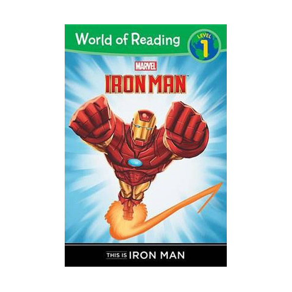 RL 1.1 : World of Reading Level 1 : This is Iron Man (Paperback)