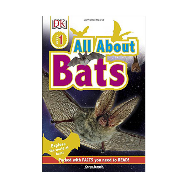 RL 1.2 : DK Readers Level 1 : All About Bats (Paperback)