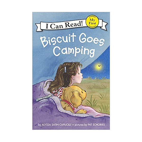 RL 1.2 : My First I Can Read : Biscuit Goes Camping (Paperback)