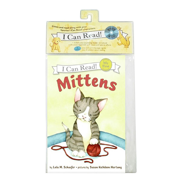 My First I Can Read : Mittens (Book & CD)