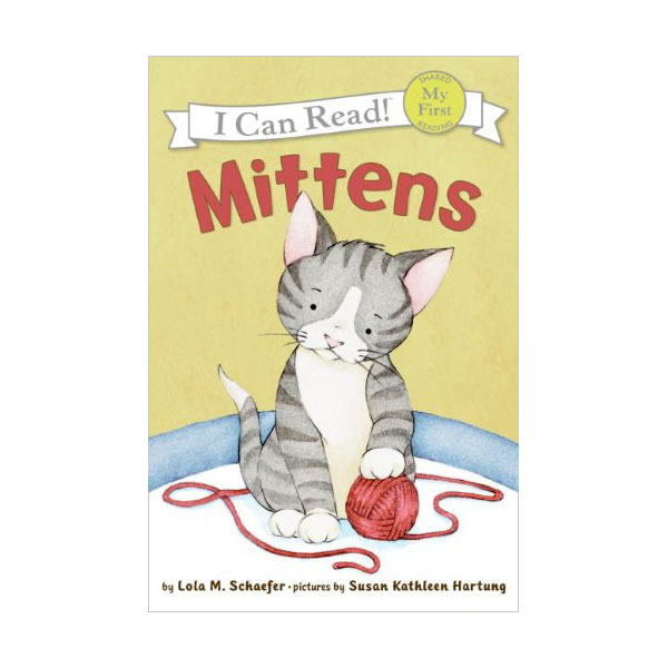 RL 1.2 : My First I Can Read : Mittens (Paperback)