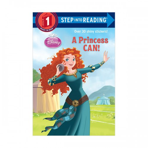 RL 1.2 : Step into Reading 1 : Disney Princess : A Princess Can! (Paperback)
