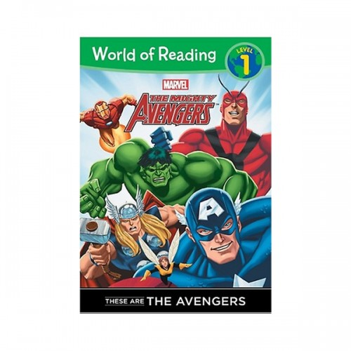 RL 1.2 : World of Reading Level 1 : These are The Avengers (Paperback)