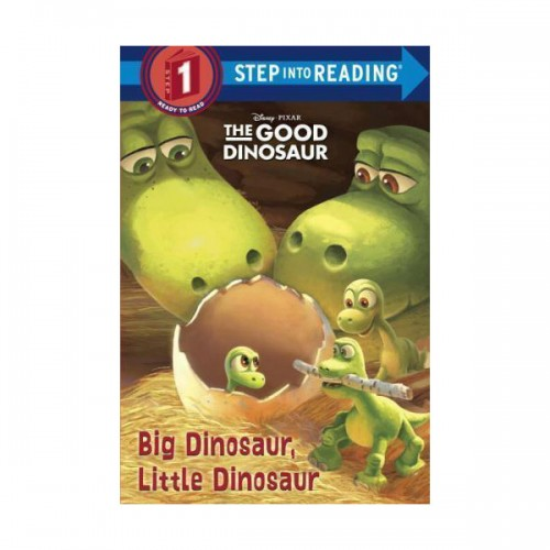 RL 1.2 Step into Reading 1 : Big Dinosaur, Little Dinosaur : The Good Dinosaur (Paperback)