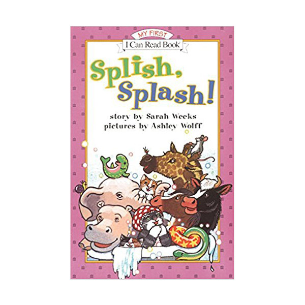 RL 1.3 : My First I Can Read : Splish, Splash! (Paperback)