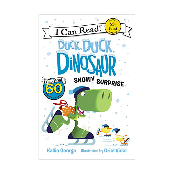 RL 1.3 : My First I Can Read Book : Duck, Duck, Dinosaur : Snowy Surprise (Paperback)