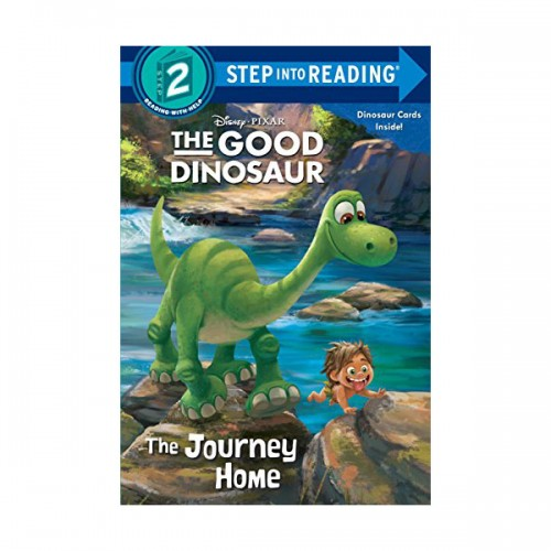 RL 1.3 : Step into Reading 2 : Disney/Pixar The Good Dinosaur : The Journey Home (Paperback)