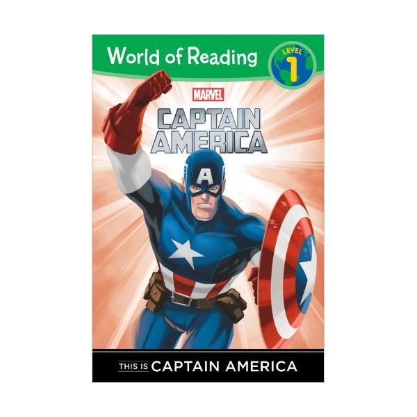 RL 1.3 : World of Reading 1 : Marvel : This is Captain America (Paperback)