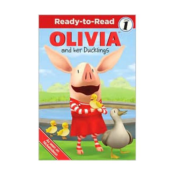 RL 1.4 : Ready To Read 1 : Olivia and Her Ducklings (Paperback)