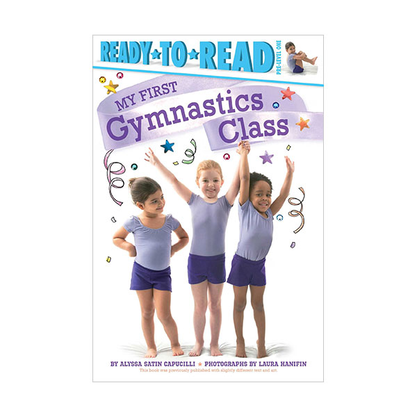 RL 1.4 : Ready to Read Pre : My First Gymnastics Class (Paperback)