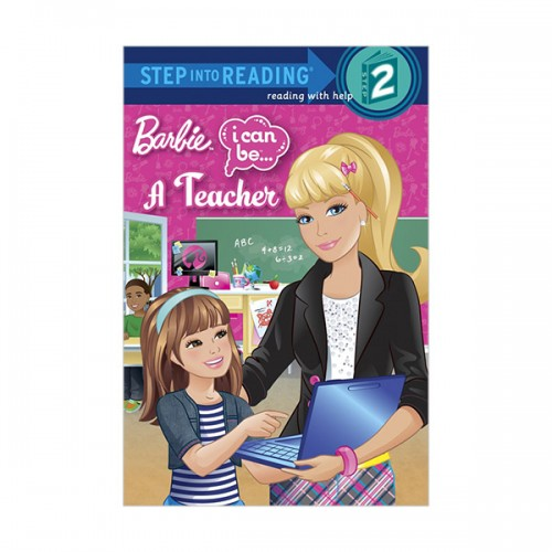 RL 1.4 : Step into Reading 2 : Barbie : I Can Be a Teacher (Paperback)