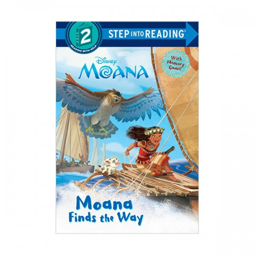 RL 1.4 : Step into Reading 2 : Disney Moana Finds the Way (Paperback)