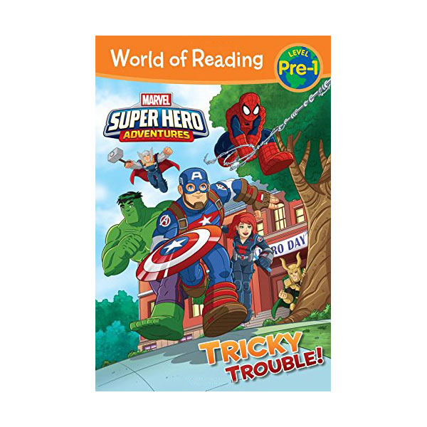 RL 1.4 : World of Reading Pre-1 : Super Hero Adventures : Tricky Trouble! (Paperback)
