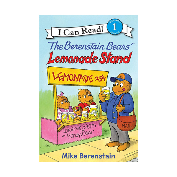 RL 1.5 : I Can Read Book Level 1 : The Berenstain Bears' Lemonade Stand (Paperback)