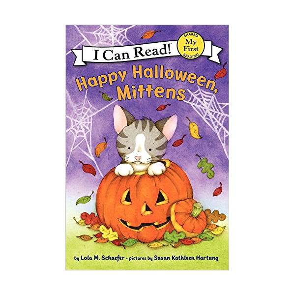 RL 1.5 : My First I Can Read : Happy Halloween, Mittens (Paperback)